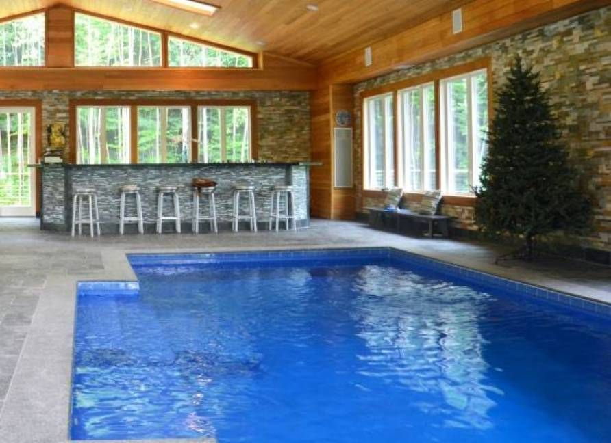 Home indoor pool with bar  Indoor Pool With Bar Home Indoor Pool Check more at http://www ...