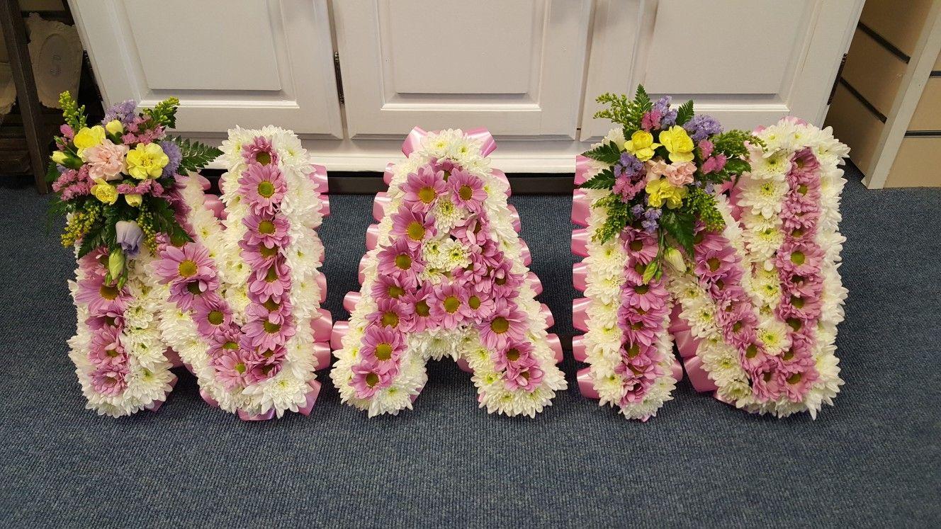 Nan tribute funeral flowers sympathy flowers pinterest nan tribute funeral flowers izmirmasajfo