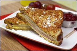 EAT THIS!!!! HG's Monte Cristo Sandwich... MMmmmmmmmmmmm!!