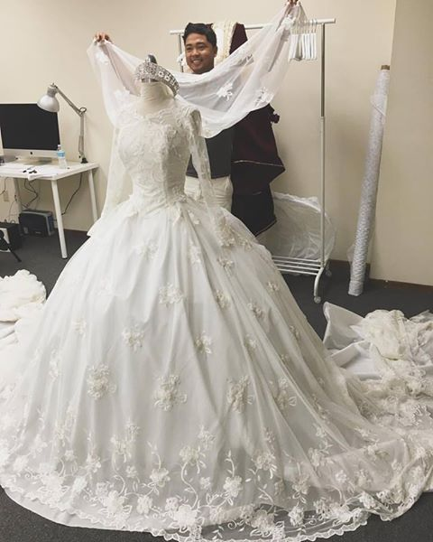 Fancy Designer Daddy What do you guys think of this Cinderella inspired wedding dress