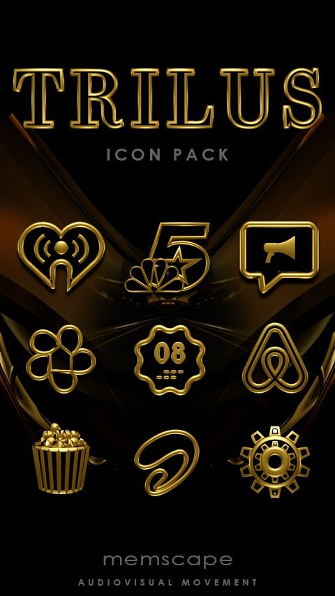 The TRILUS Icon Pack requires an Android smartphone or