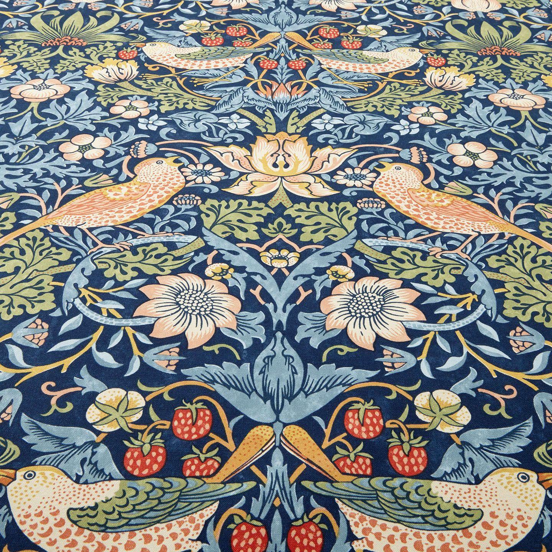 Morris & Co. Strawberry Thief Furnishing Fabric, Indigo