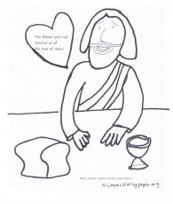 Coloring Pages Of Jesus Healing The Deaf Man The Jesus 272260