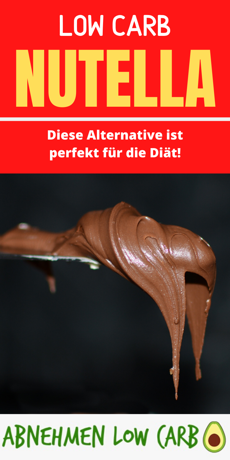 Low Carb Nutella - Abnehmen Low Carb