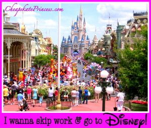 Gotta Have it! 12 Cheapskate Extravagances at Walt Disney World - Disney's Cheapskate Princess
