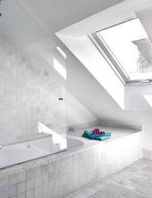 Frisk luft og naturlig lys Delikate bad Pinterest - sternenhimmel für badezimmer