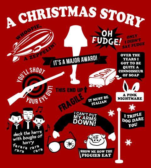 A Christmas Story Quotes Wayward Tees Christmas Story Quotes A Christmas Story Christmas Movie Quotes