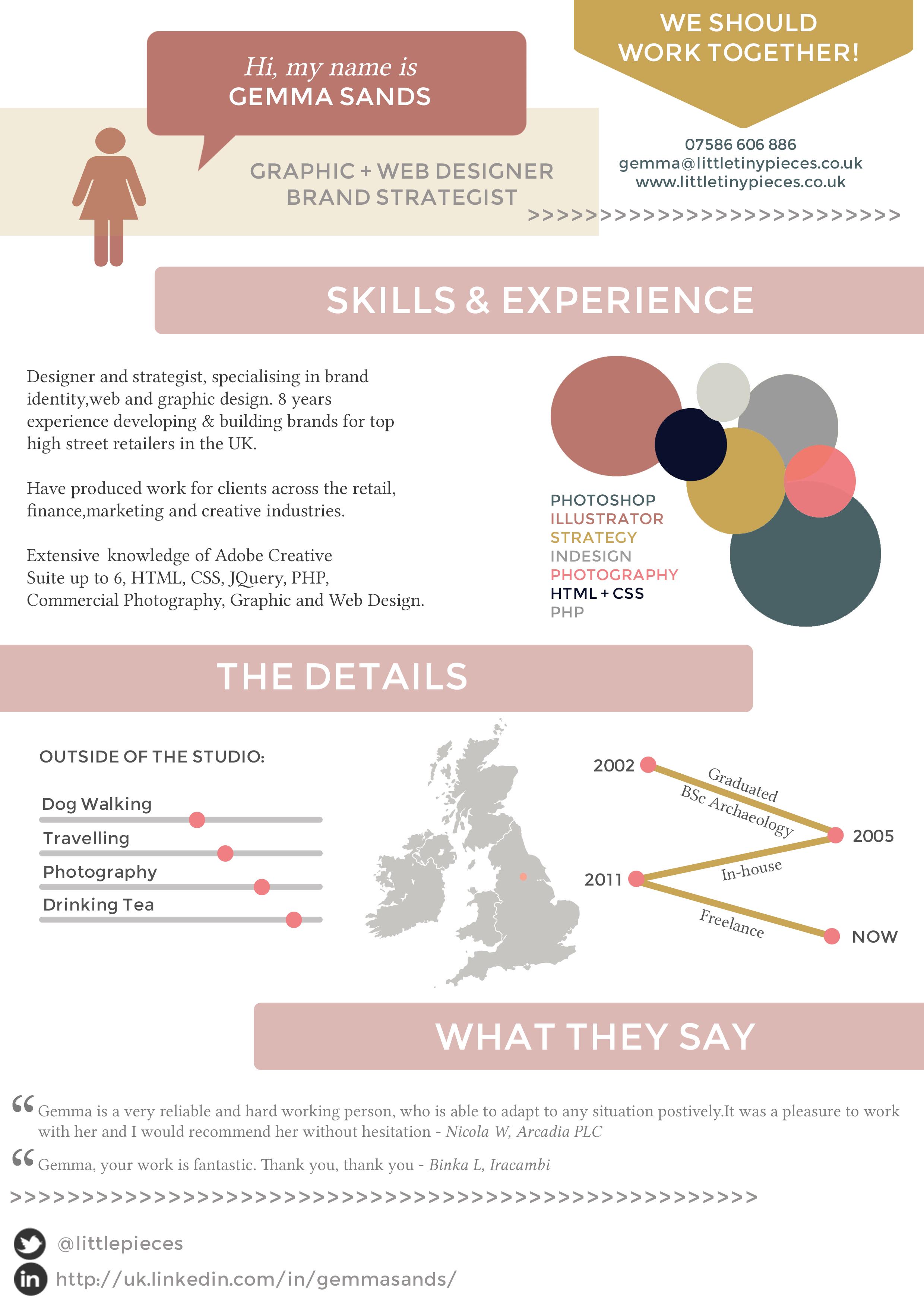 Instructional Design Resume Infographic Resume  Lp Studio  Infographics  Pinterest