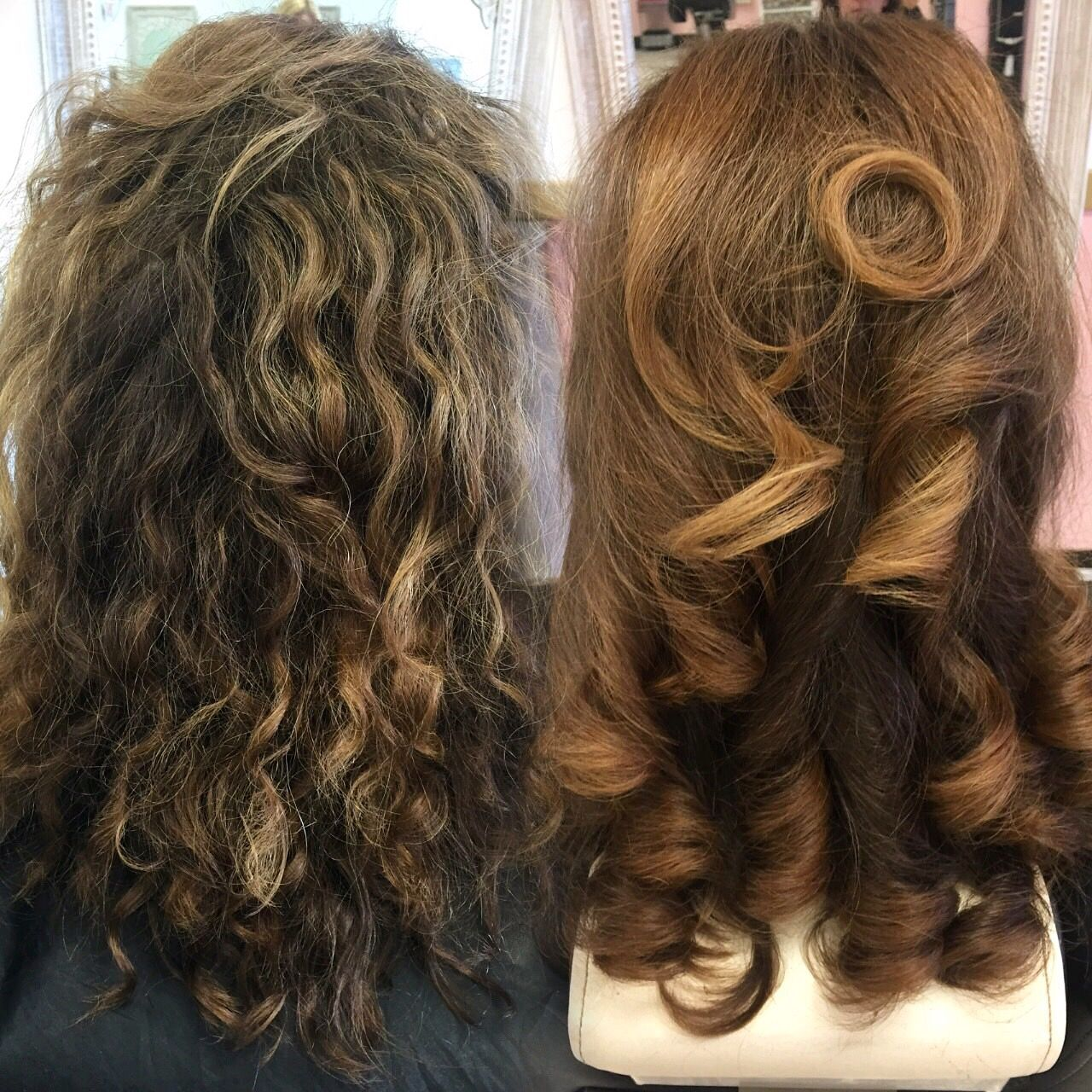 Curly Hair Blowout Blowout Hair Curly Hair Styles Naturally Curly Blowdry