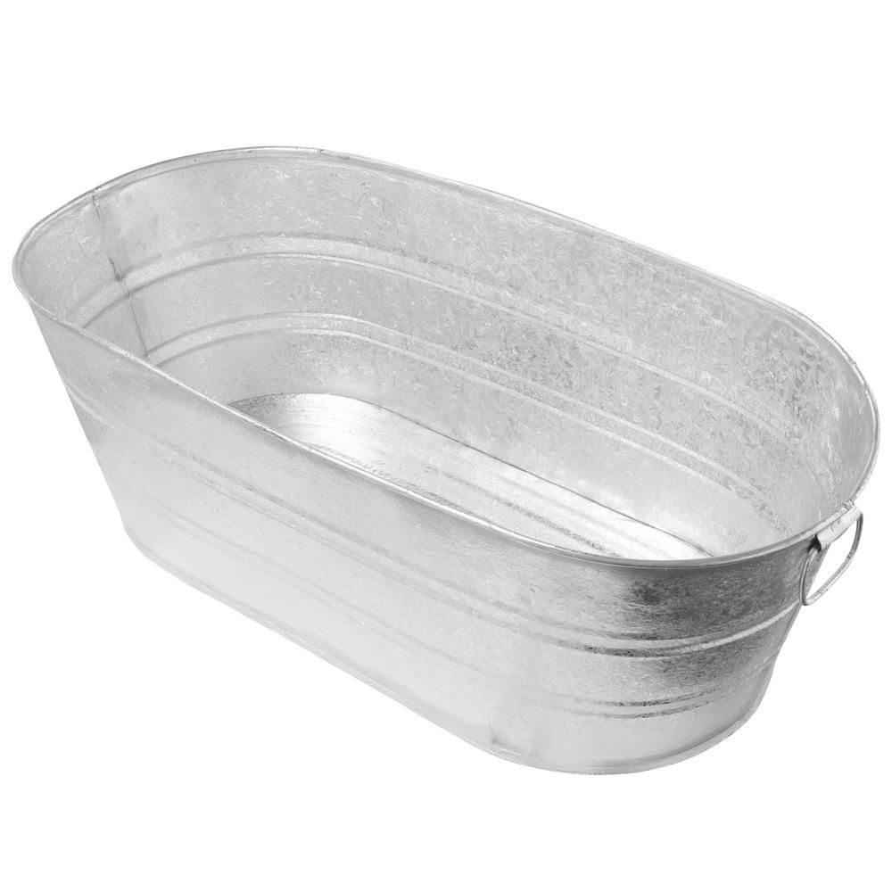 Behrens 16 gal hot dipped steel oval tub3ovx the home
