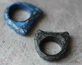 Fragment Ring in Black, Genevive Williamson
