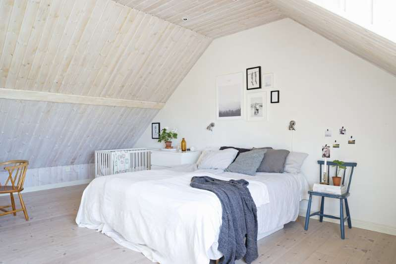 Schlafzimmer Mit Dachschrage Clever Einrichten Schlafzimmer