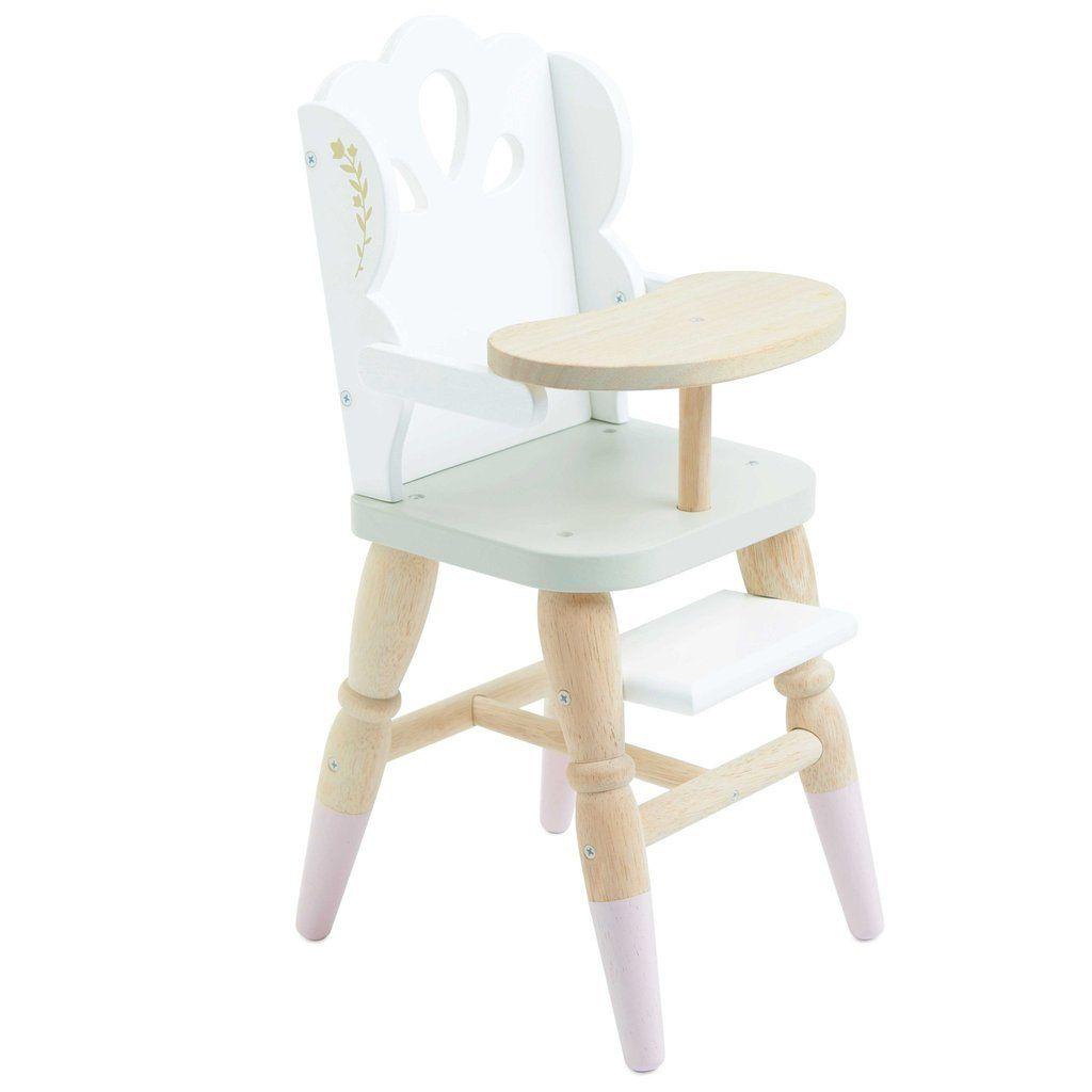 Le Toy Van Doll S High Chair Doll High Chair High Chair Cool Chairs