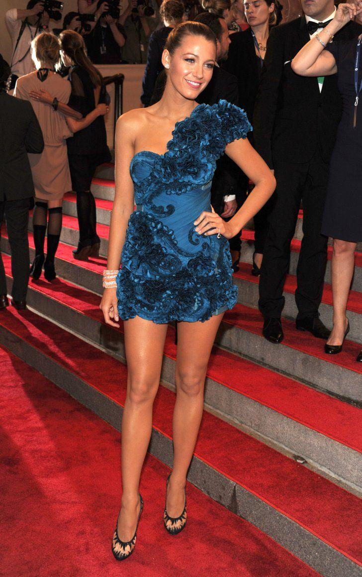 Pin for Later: 38 Momente in denen wir gerne Blake Lively gewesen wären Als sie dieses Kleid zur Met Gala trug