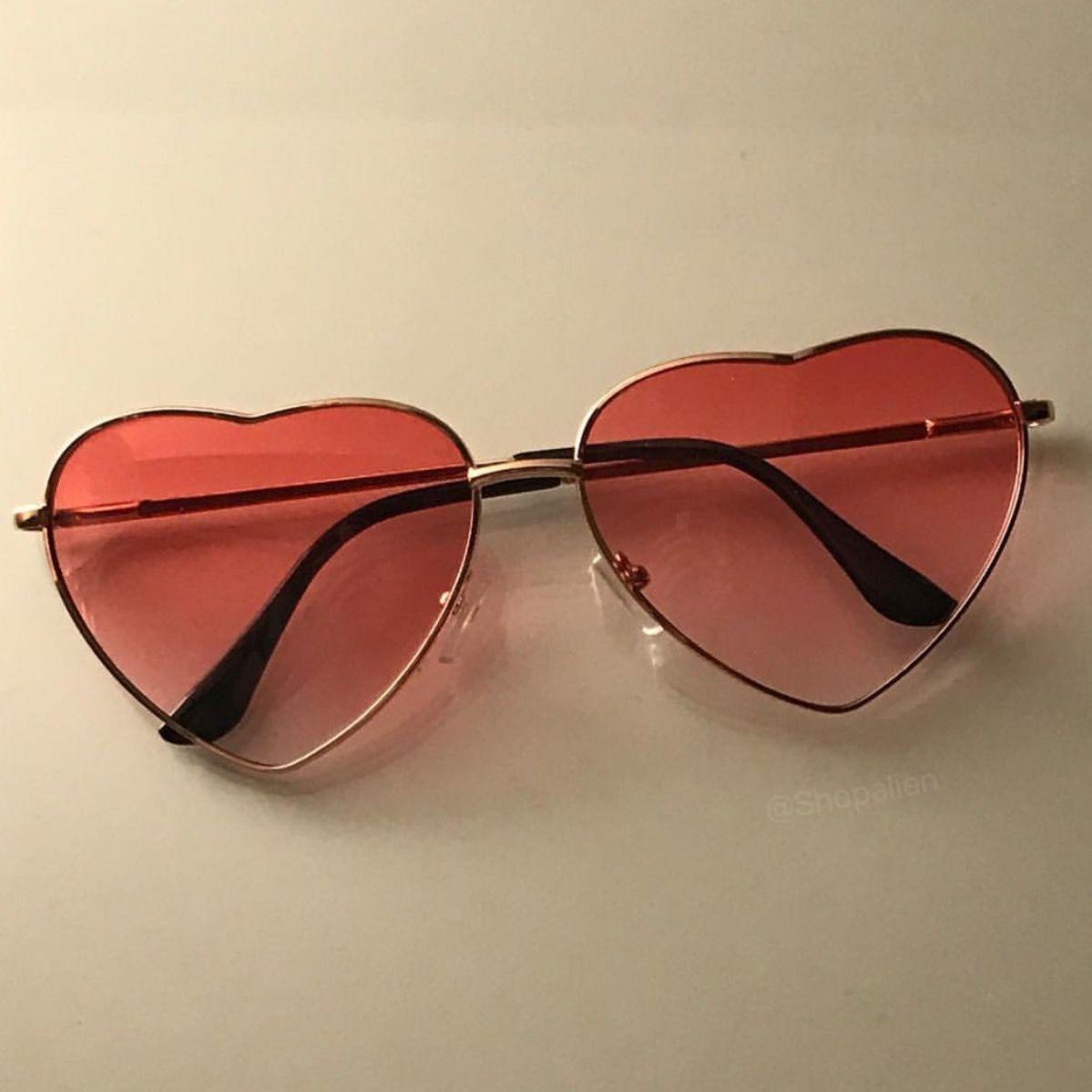 Love heart sunglasses from Shop Alien   instagram shopalien