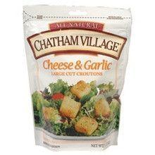 Chatham Village Cheese & Garlic Croutons (12x5 Oz)
