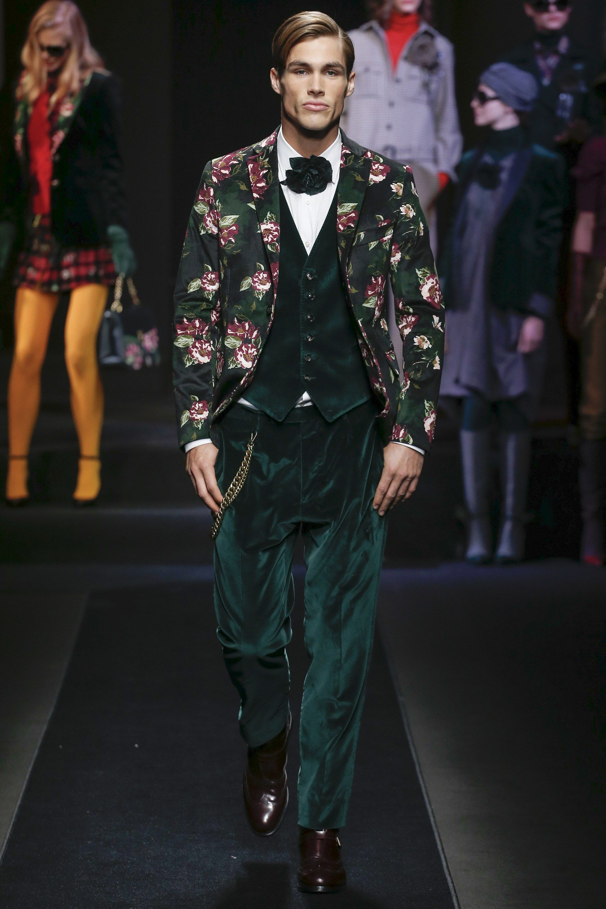 Daks Fall 2018 Menswear Fashion Show is part of Clothes Mens 2018 - The complete Daks Fall 2018 Menswear fashion show now on Vogue Runway