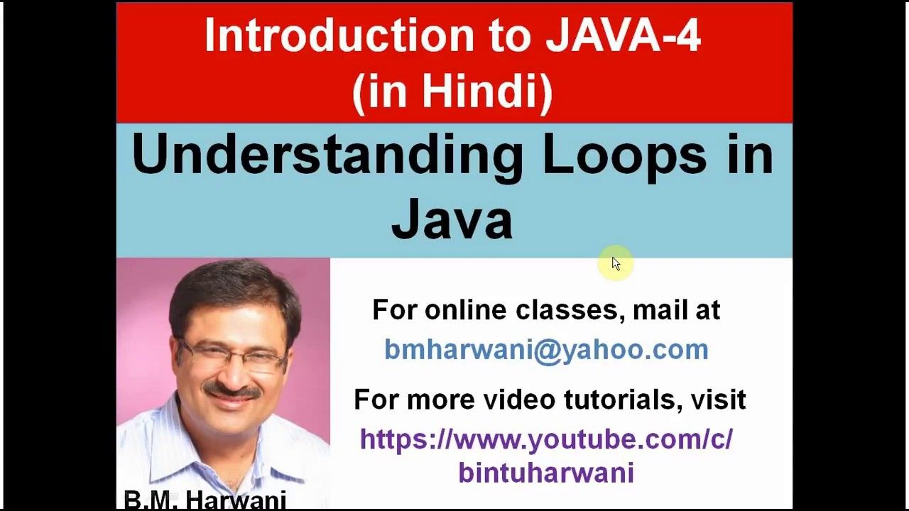 Java Lecture 4 Hindi Understanding Loops In Java Do While