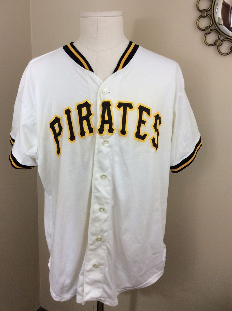 2c37147fe Vintage Pittsburgh Pirates Button Up Jersey Rawlings Made in the USA. Men s  XXL  Rawlings  PittsburghPirates