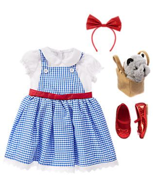 unis dorothy outfit by gymboree outift includes dorothy costume plush basket with toto and dorothy glitter flats