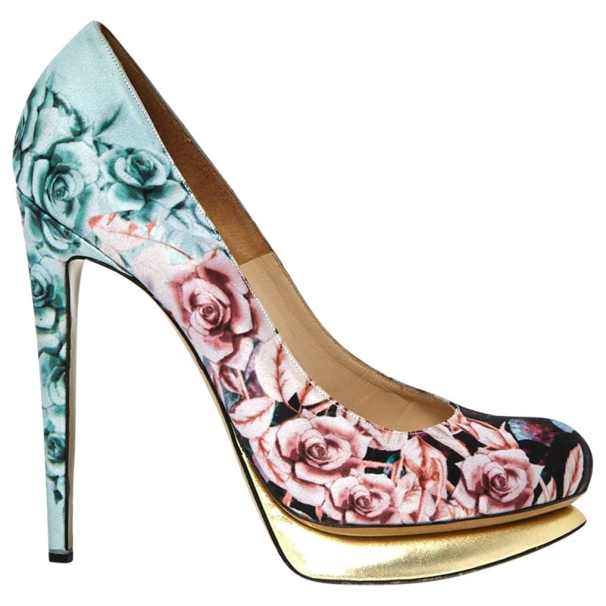 Heels Nicholas Kirkwood Multicolore taille 40 EU en Cuir – 2212152 – Products