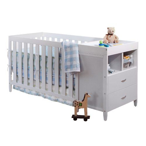 $299.99-$319.00 Baby The BSF Baby Austin convertible crib and changer set offers safety and convenience for your nursery. This two piece sets contains the Austin crib which can grow with your child as you convert it into a transitional toddler bed then daybed, then right into a full sized bed which requires only adult bedrails that can be purchased separately and a changing table. In the crib se ...