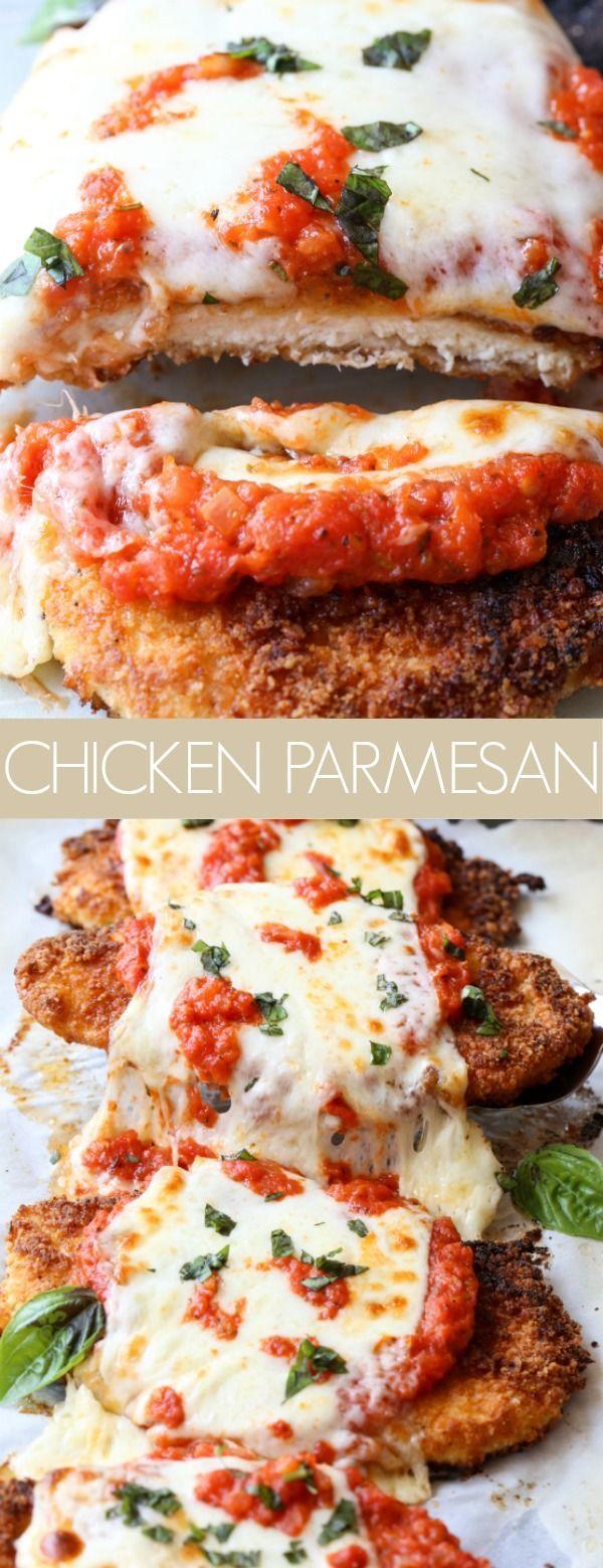 Easy Chicken Parmesan Recipe - Valentina's Corner