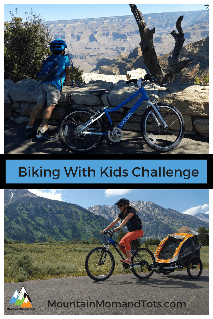 Biking with Kids September 2018 Outdoor Challenge (With