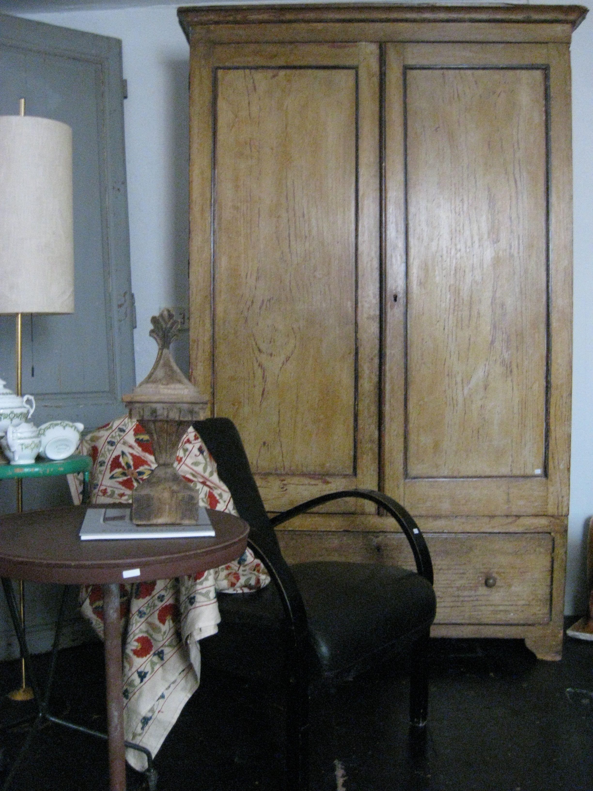 Armario policromado madera de pino roperos pinterest pino armario y madera - Ofertas armarios roperos ...