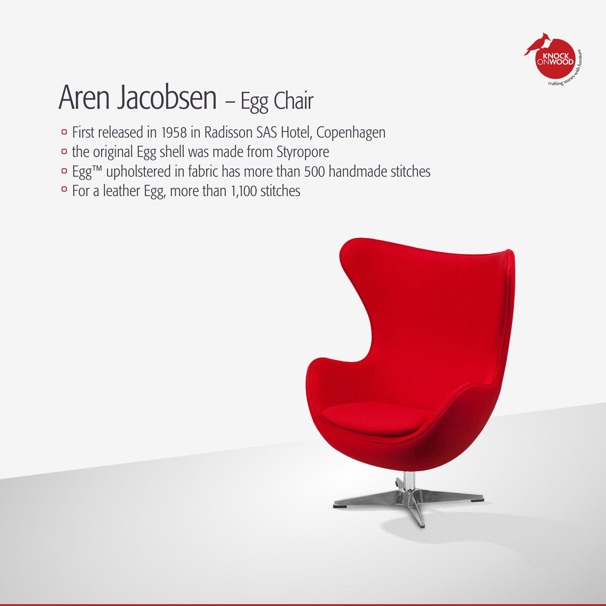 The Egg Chair Is Perhaps One Of The Most Famous And Iconic Chairs In