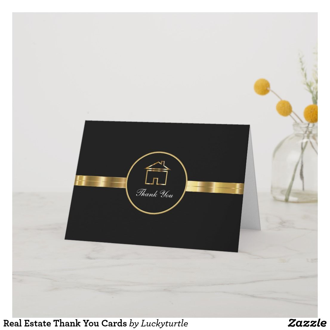 real estate thank you cards  zazzle  thank you cards
