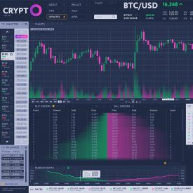 Keep track of crypto trades