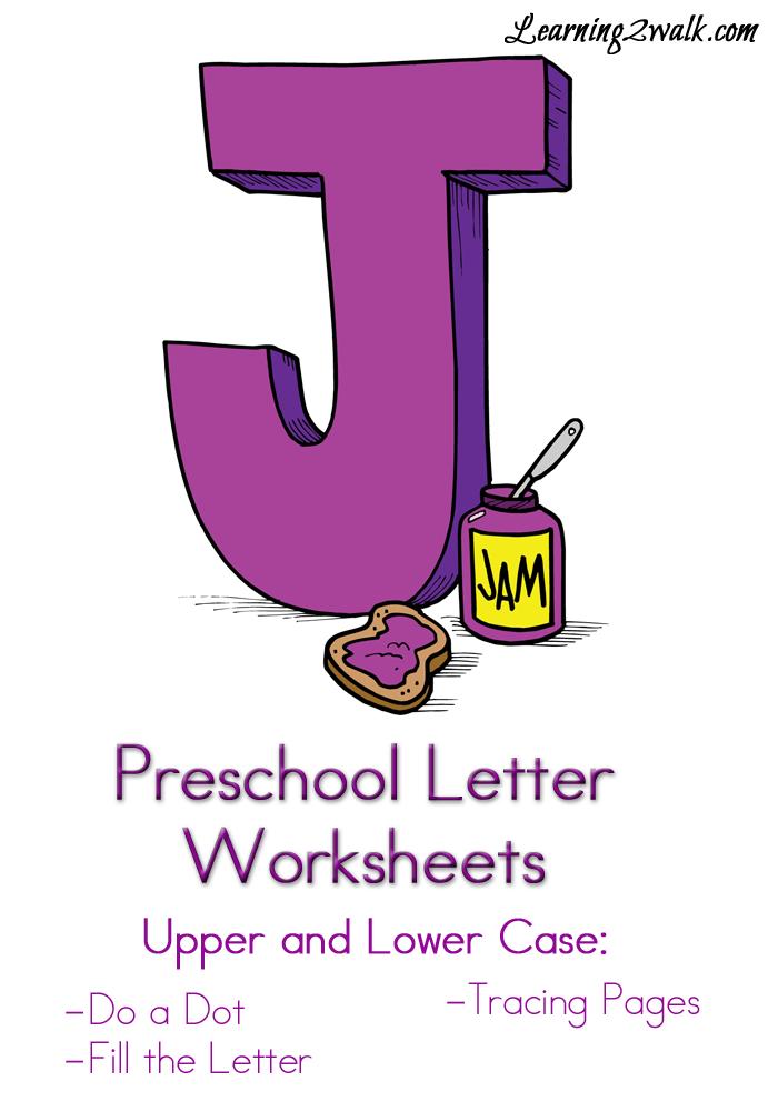 preschool letter j worksheets preschoolers letter worksheets for preschool letter. Black Bedroom Furniture Sets. Home Design Ideas