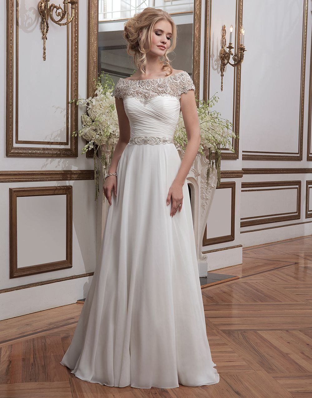 Justin alexander wedding dresses style ball gowns neckline