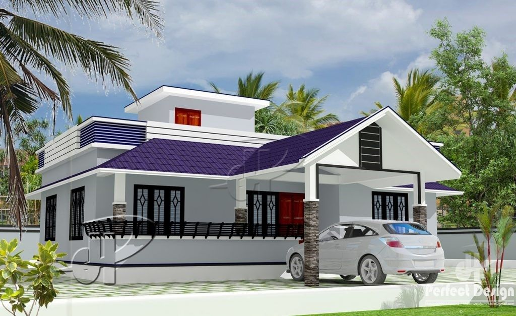 Captivating Modern Three Bedroom House Beautiful House Plans