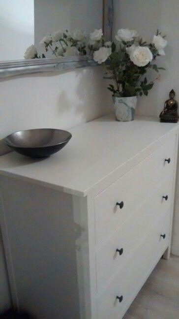 Schlafzimmer Kommode IKEA Brimnes, Rosen, Spiegel Zuhause \u003c3