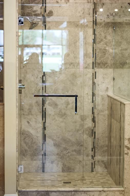 Towel Bar Handle Combo With Images Frameless Shower Doors