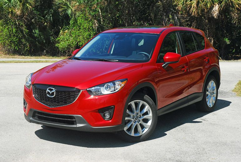2014 Mazda CX5 Review & Test Drive Picked up my soul red