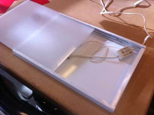 Inexpensive Diy Led Lightbox For Tracing Led Diy Light Box Diy Led Light Box