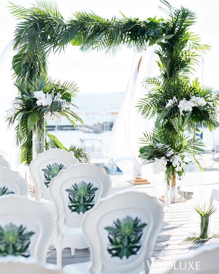 Beach Wedding Reception Ideas: Pin By Chic Bahamas Weddings