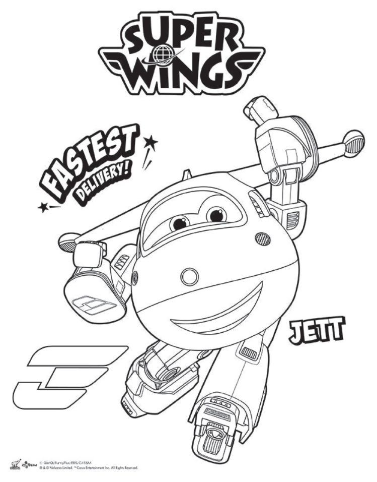 coloring pages wings pages to color printable coloring pages coloring books colouring sheets ali - Sprout Super Wings Coloring Pages