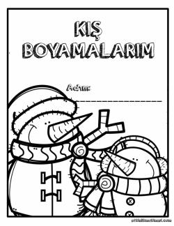Kardan Adam Boyama Sayfasi Kardan Adam Boyama Sayfalari Okul