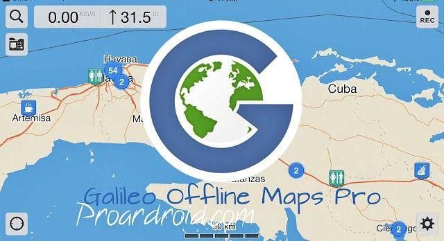 تحميل تطبيق الخرائط والملاحة الجوية Galileo Offline Maps Pro الذي لا يحتاج الي انترنت اثناء تصفحه بمميزات رهيبة للاجهزة الاندرويد باخر تح Map Pie Chart Offline