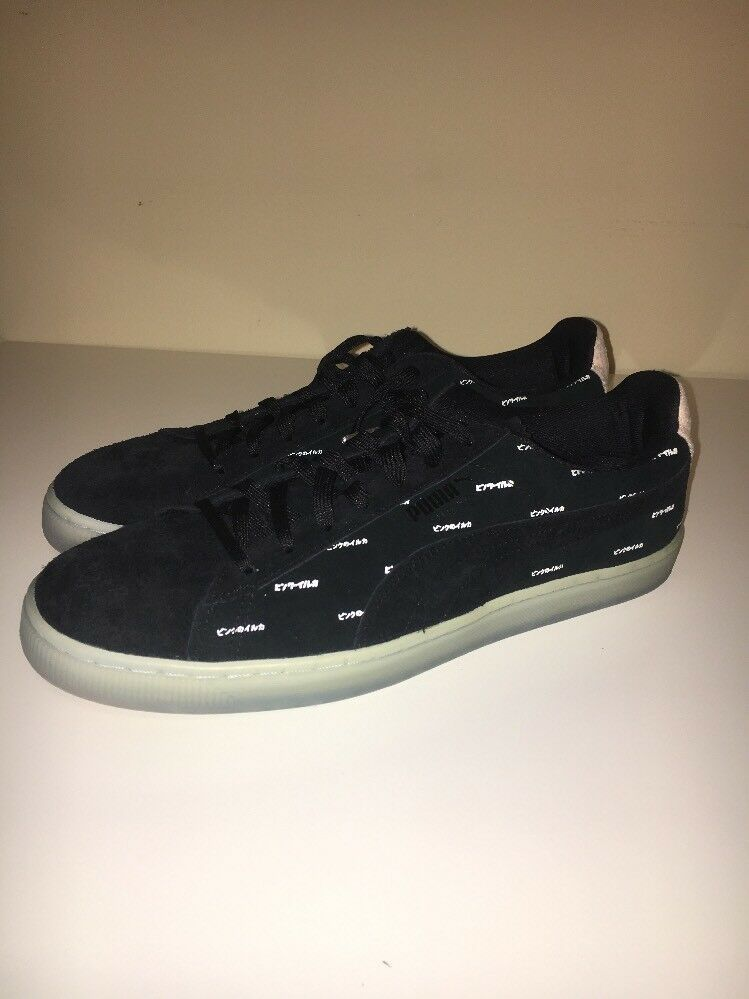 8b851f03712a Puma x Pink Dolphin Puma Suede Sneakers Black Size 11.5 in 2019 ...