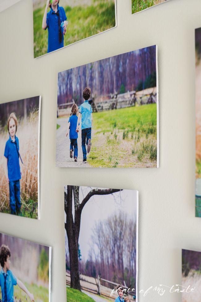 HOW TO MOUNT PHOTOS ON FOAM BOARD | Pinterest | Board, Photo wall ...