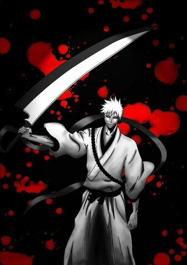 This Is The True Zangetsu In My Hand Hichigo Bleach Anime Bleach Art Bleach Anime