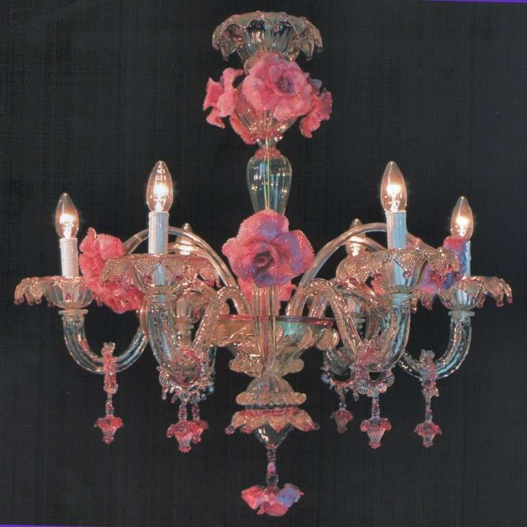 Image Result For Czech Glass Chandelier Lampadari Lampadario In Vetro Lampadario Rosa