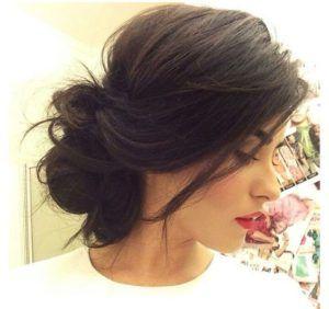 elegant updos medium hair