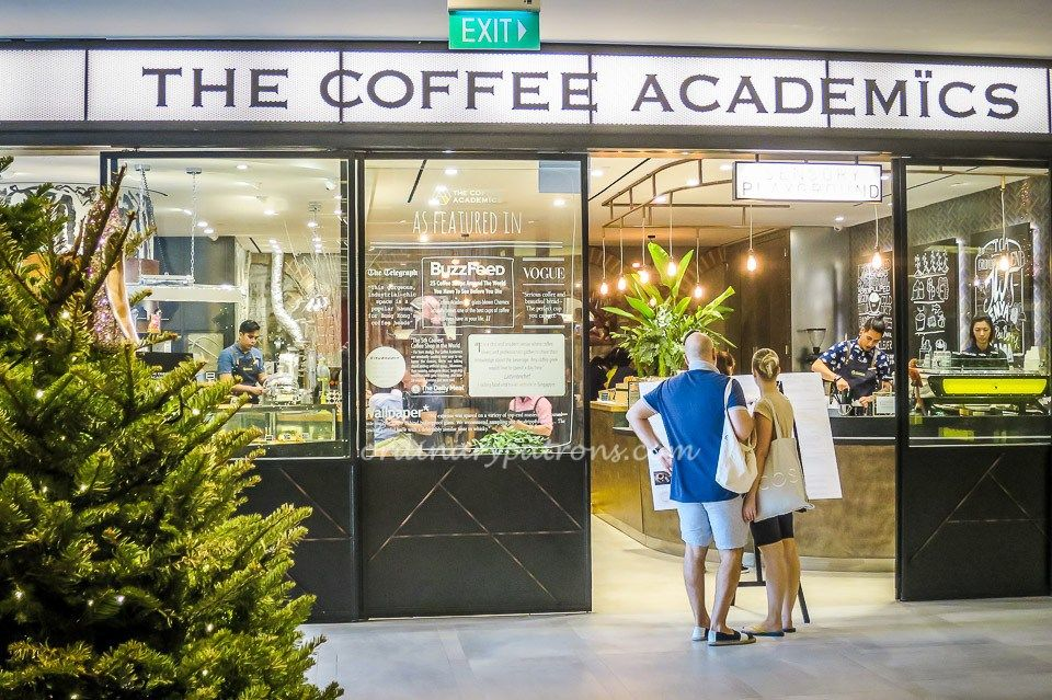 The Coffee Academics Singapore At Scotts Square Academics Singapore Coffee