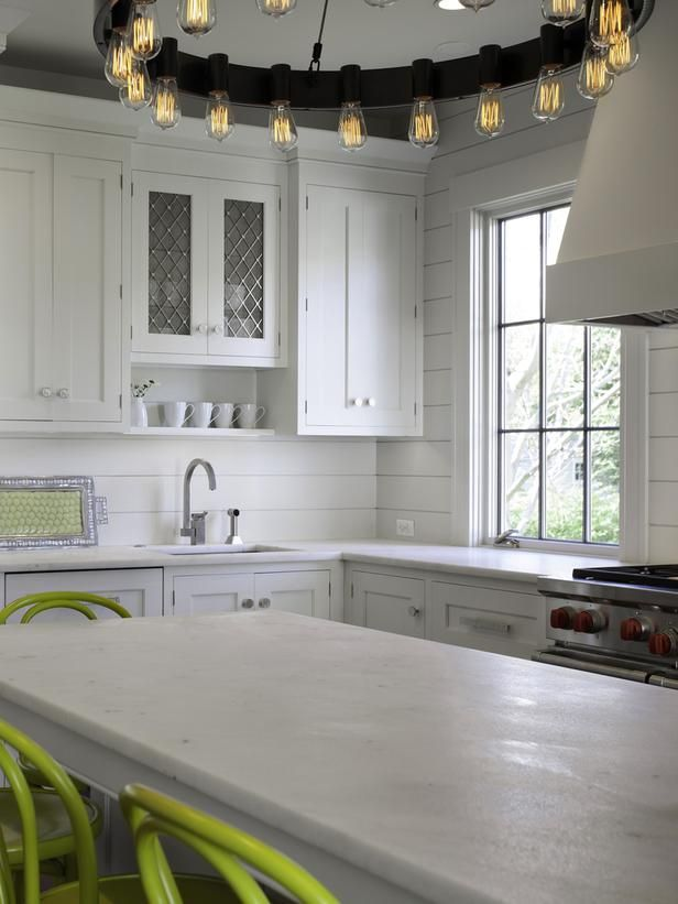 Kitchen Backsplash Up To Ceiling dreamy kitchen backsplashes | ship lap, kitchen backsplash and